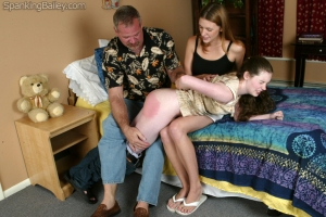 image from Spanking Bailey via Bad Girls Need Good Spankings